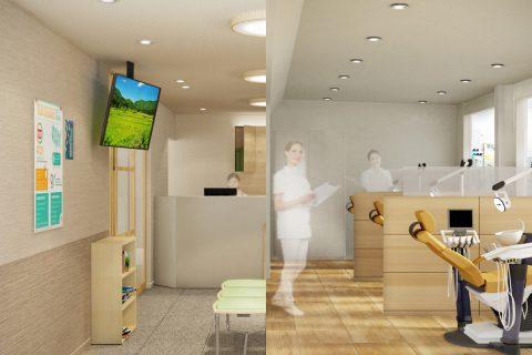 リアルなパース, 内観, 制作事例, 商業施設, 小規模パース, 建築・住宅パース